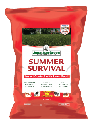 Summer Survival Insect Control Lawn Fertilizer