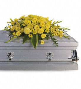 Teleflora Graceful Grandeur Casket Spray