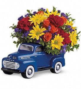 Teleflora '48 Ford Pickup Bouquet