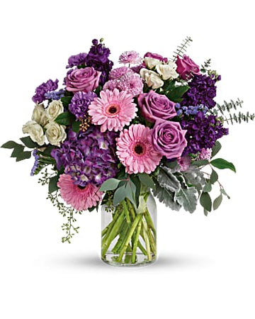 Teleflora Magnificent Mauves Bouquet
