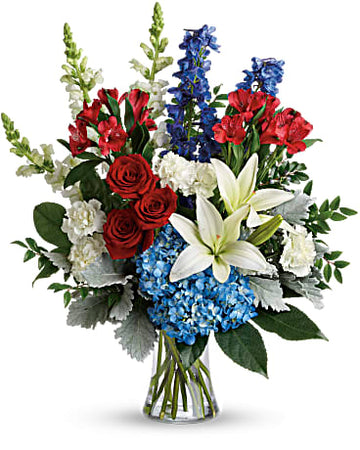 Teleflora Colorful Tribute Bouquet