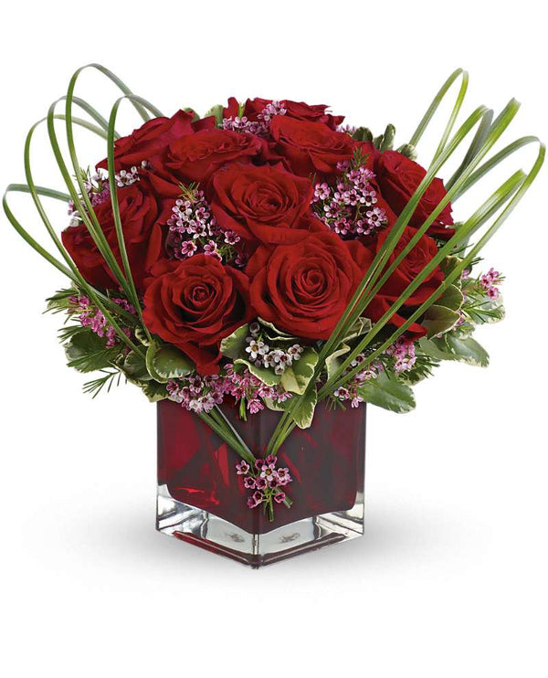 Teleflora Sweet Thoughts Bouquet with Red Roses