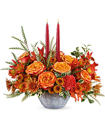 Teleflora Bountiful Blessings Centerpiece