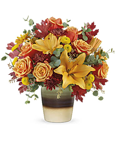 Teleflora Rustic Sunrise Bouquet