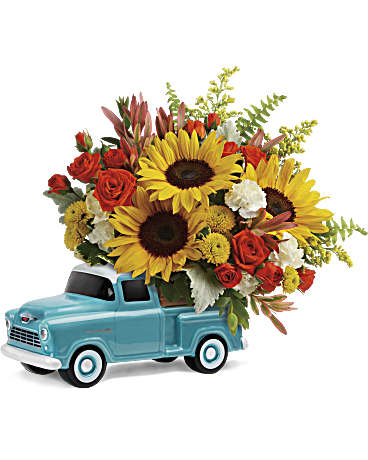 Teleflora Chevy Pickup Bouquet