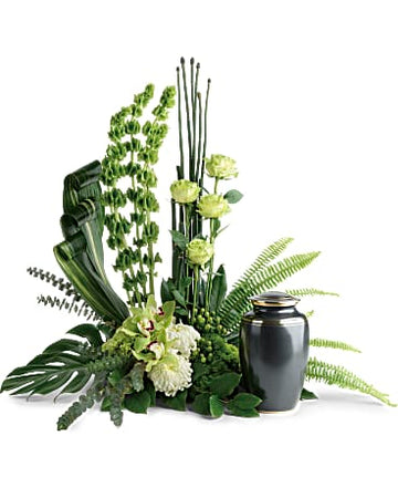 Teleflora Tranquil Peace Cremation Tribute