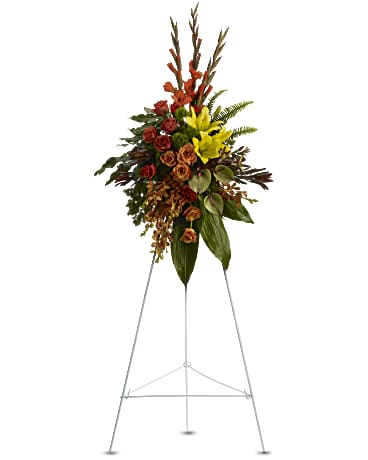 Teleflora Tropical Tribute Spray