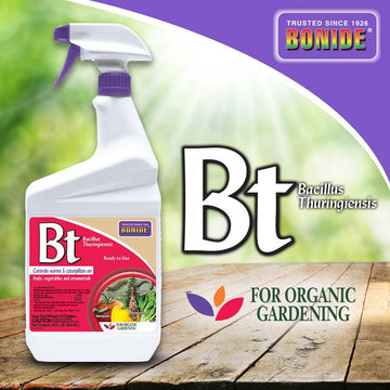 Bonide BT Thuricide Spray RTU QT