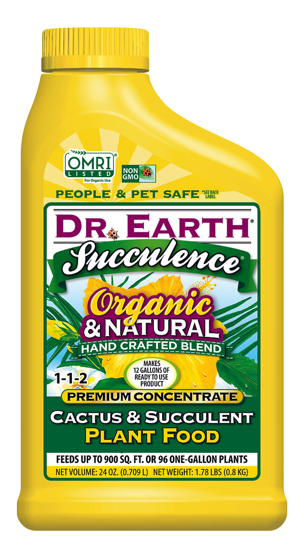 Dr Earth Cactus & Succulent Plant Food 1-1-2 Concentrate