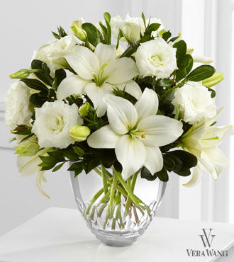 FTD White Elegance Bouquet by Vera Wang