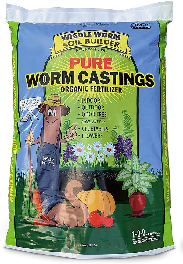 Worm Castings Organic Soil Builder