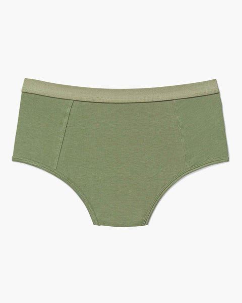 High Waist Brief Surplus Green
