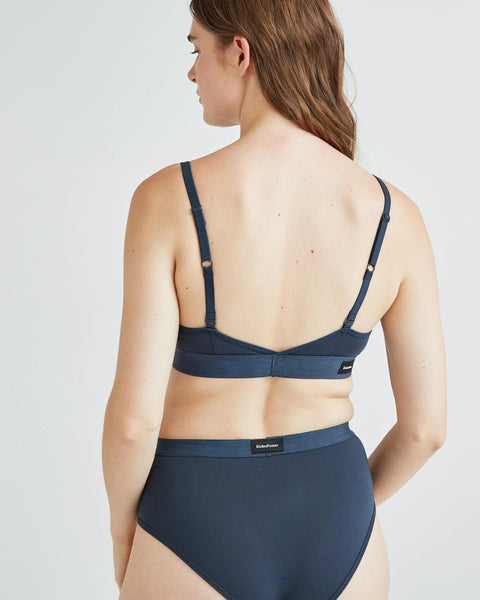 Cut Out Bralette Blue Nights