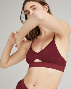 Vamp Cut Out Bralette