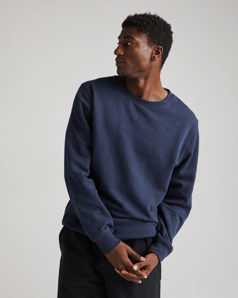 Blue Nights Recycled Fleece Sweatshirt