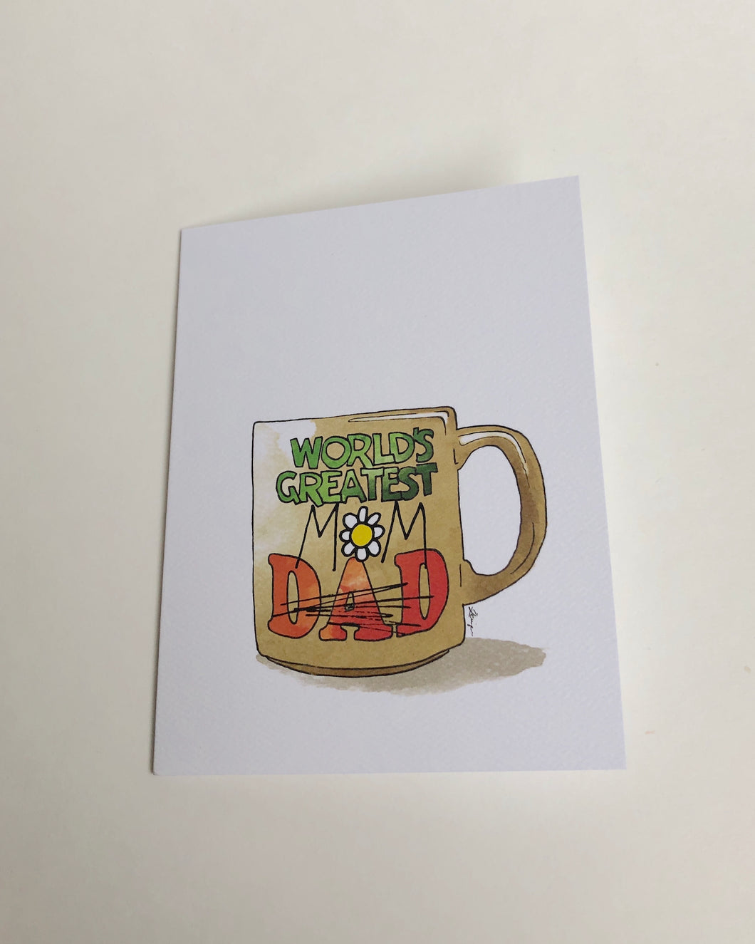 Mom Mug Mother's Day Card