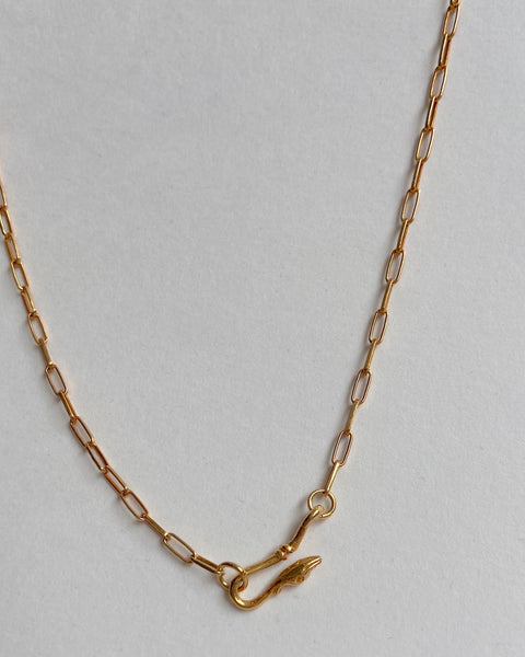 Gold Goose Necklace