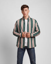 Load image into Gallery viewer, Traveller Stripe Printed Button Down