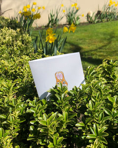Foiled Easter Card