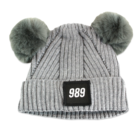 989 Infant Beanie - Grey