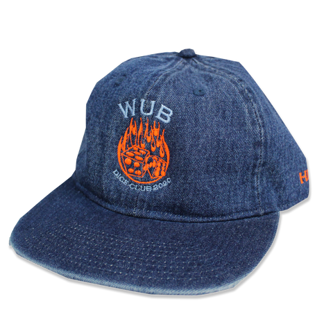 DICE CLUB DENIM 6-PANEL