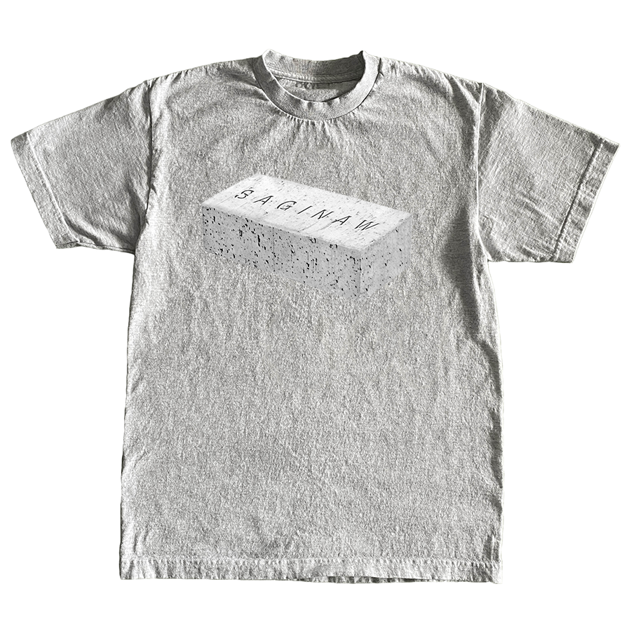 SAGINAW BRICK TEE - GREY