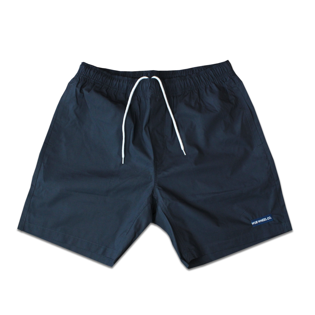 Bar Logo Summer Shorts - Slate Blue