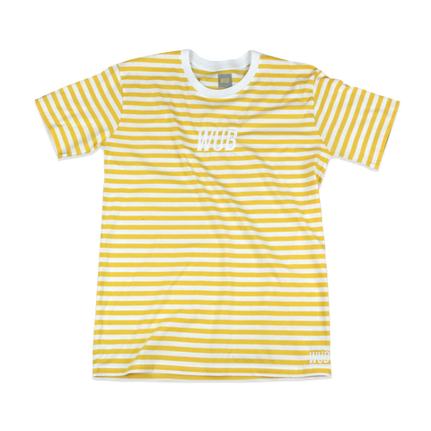 SAIL STRIPE TEE - YELLOW