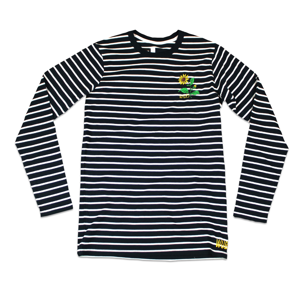 Sunflower Stripe Longsleeve - Navy/ White