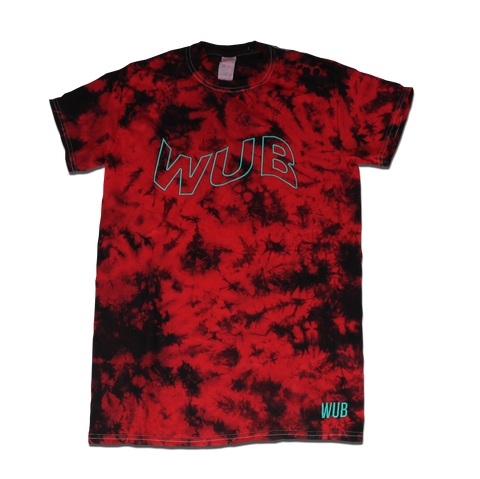 WAVE DYE TEE - RED