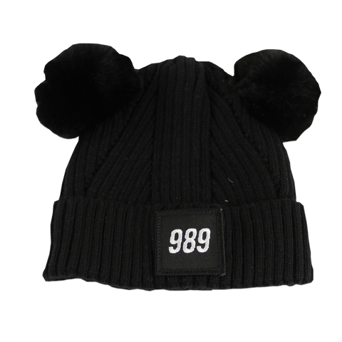 989 Infant Beanie - Black