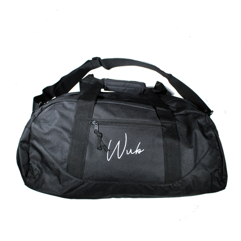 Puff Embroidered Duffel - Black