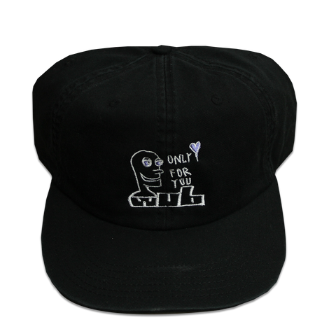 ONLY FOR YOU 6-PANEL - BLACK