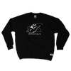 BRB ANGEL CREWNECK - BLACK