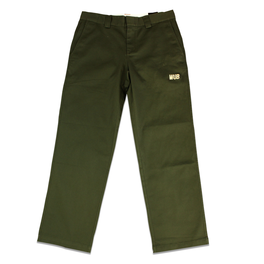 STOCK CHINO PANTS - OLIVE