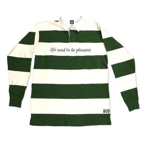 USED TO BE RUGBY - GREEN/ WHITE