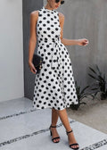 Connect The Dots Midi Dress