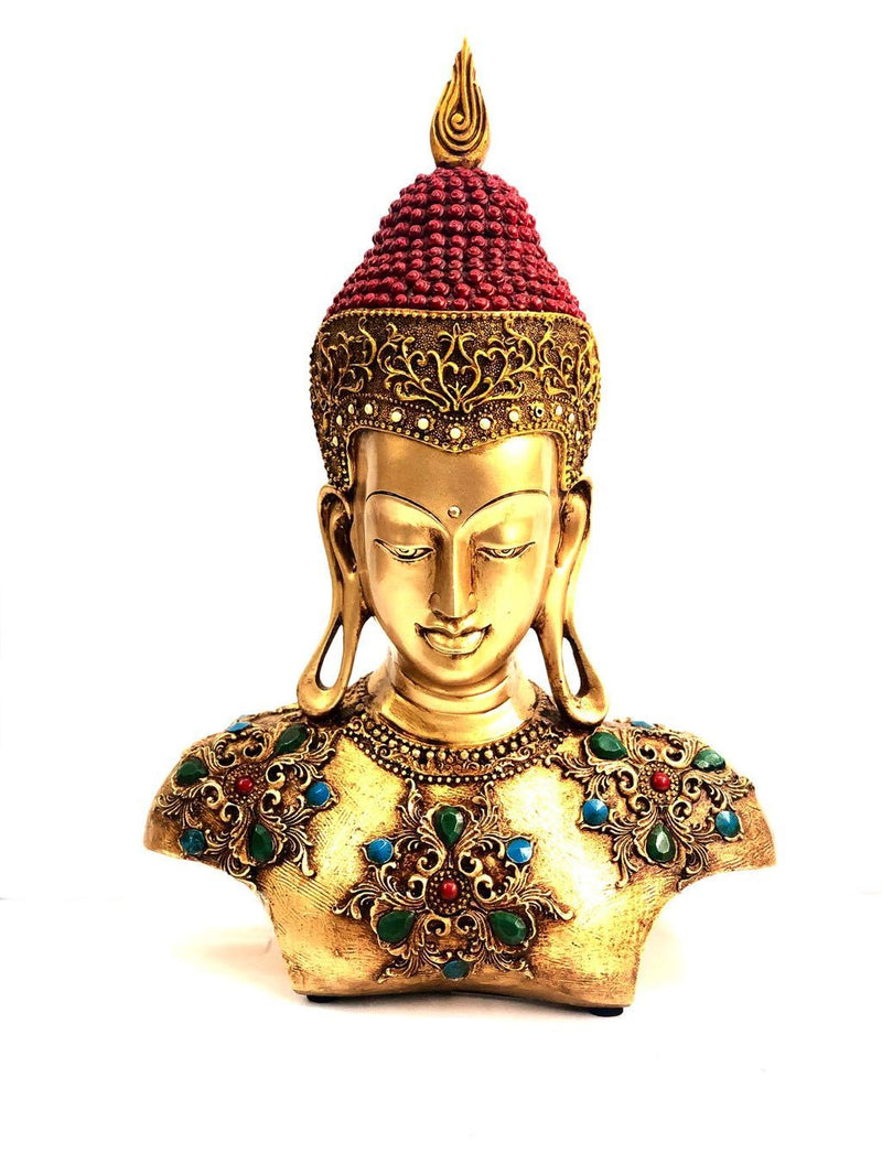 Buddha Bust Perfect To Redecorate Your Lovely Homes From Tamrapatra