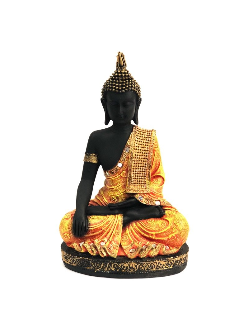 Auspicious Buddha In Various Shades Home Decor Artefacts Tamrapatra