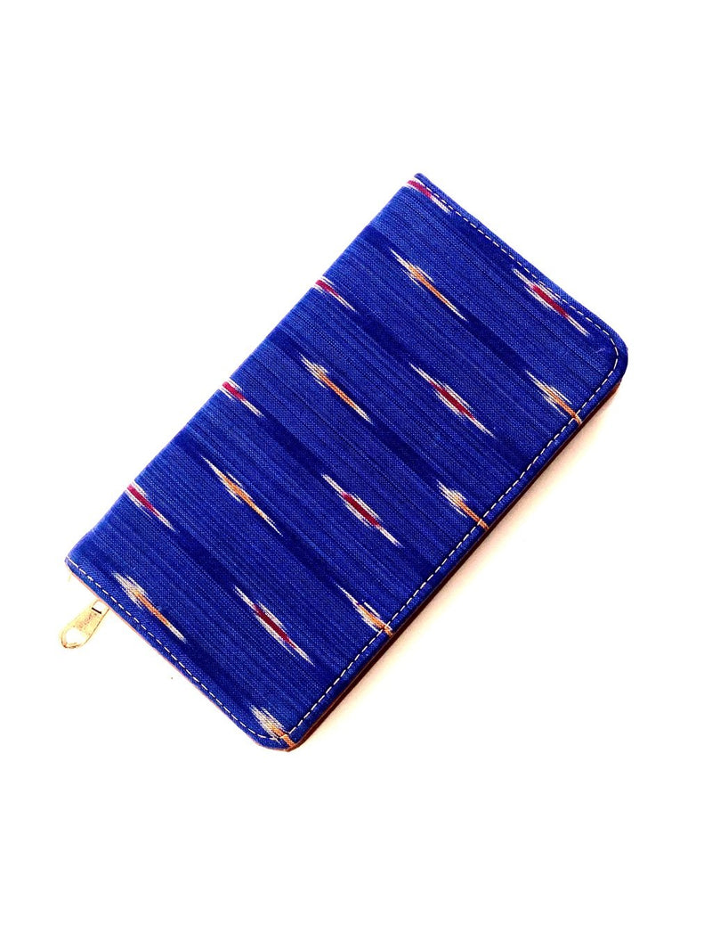 Ikkat Style Clutch Purse Fashion Accessories Parallels Art Tamrapatra