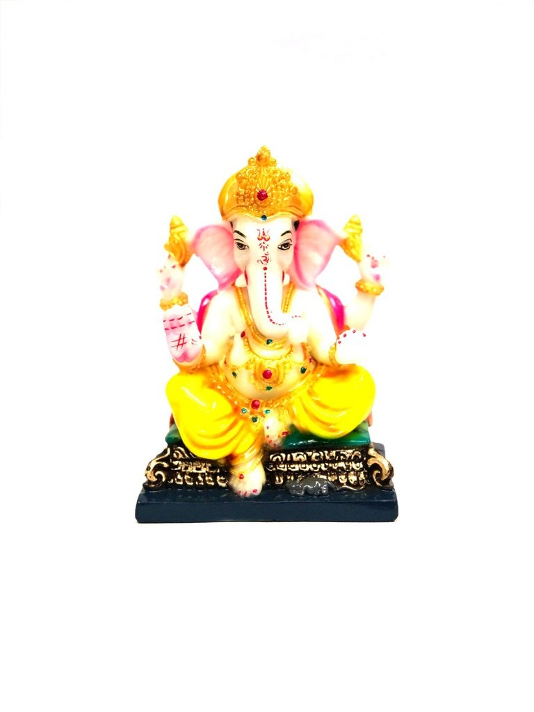 Ganesha Spiritual Gifts For All Occasions Home Decor Resin Tamrapatra