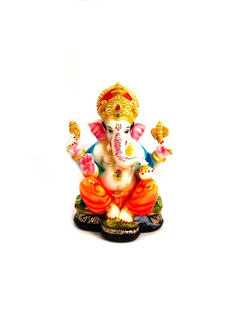Exclusive Resin Statue Of Ganesha Handcrafted In India By Tamrapatra