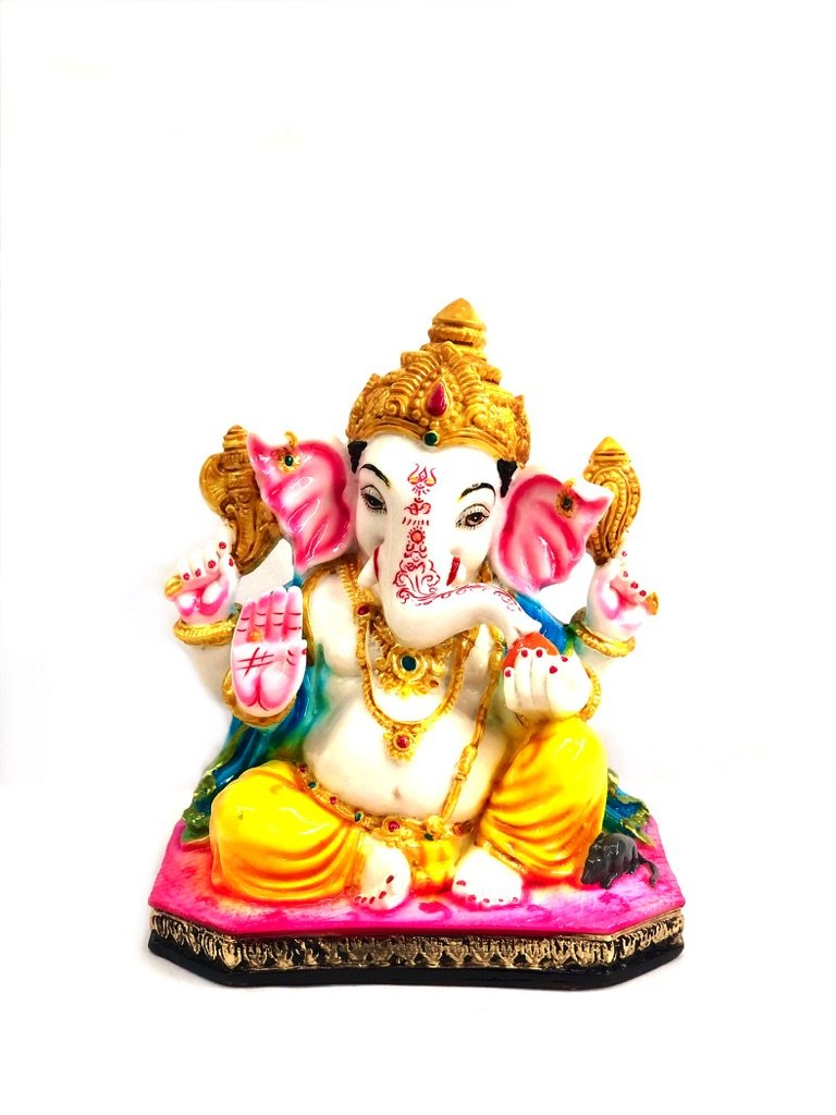 Exclusive Resin Decor Lord Ganesha Handcrafted Gifts By Tamrapatra
