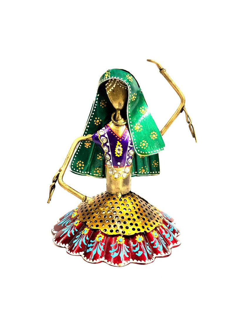 Dancing Doll Series Exclusively Hand Painted Folk Tribe By Tamrapatra