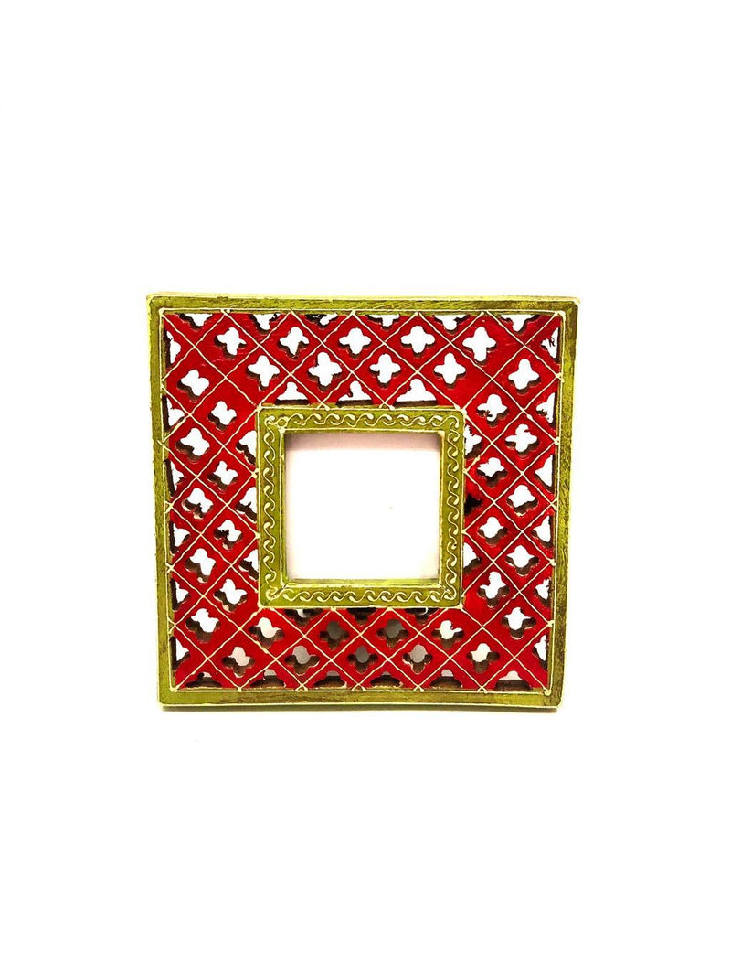 Traditional Style Wooden Photo Frame Handcrafted Gifts From Tamrapatra