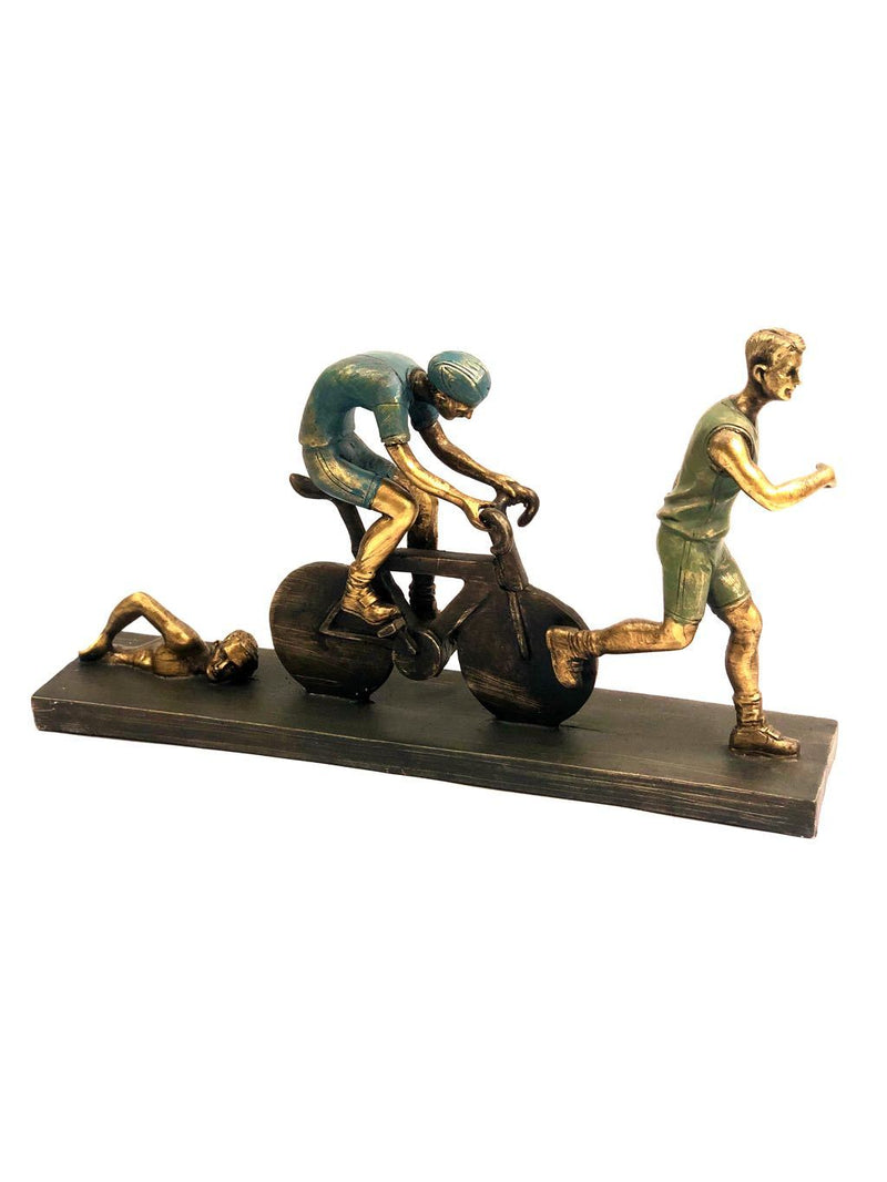 Three Athletes Showpiece Personalised Touch To Your Home By Tamrapatra
