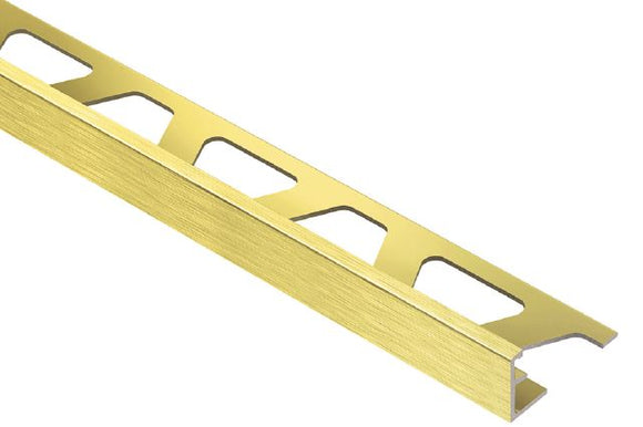 JOLLY EDGE TRIM ALUMINUM BRUSH BRASS