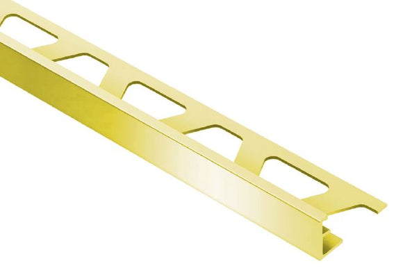 JOLLY EDGE TRIM ALUMINUM POLISH BRASS