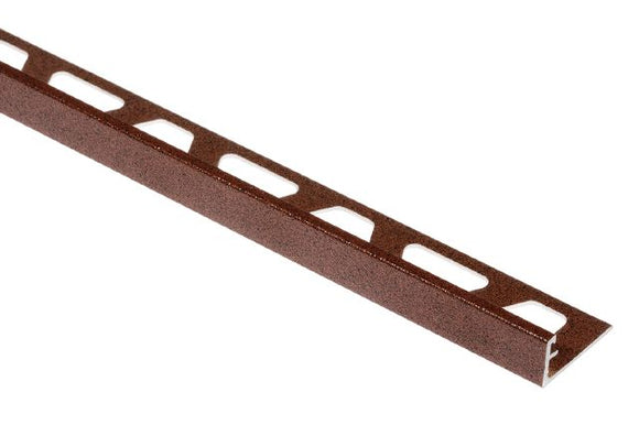 JOLLY EDGE TRIM ALUMINUM RUSTIC BROWN