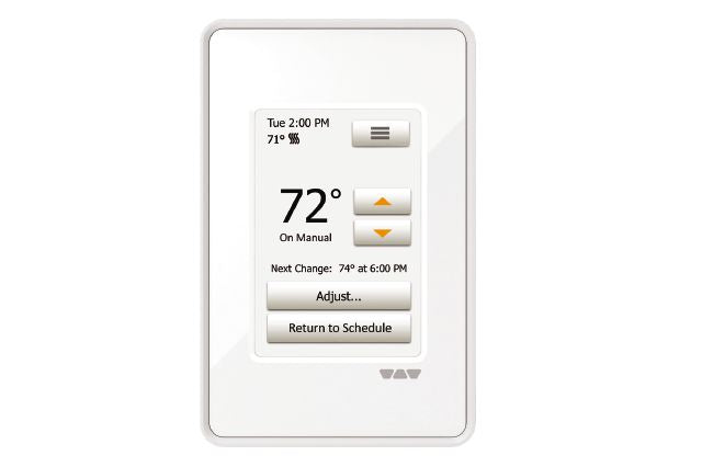 SCHLUTER DITRA-HEAT-E-RT TOUCH PROGRAM THERMOSTAT WHITE